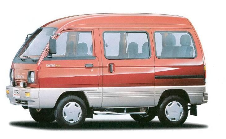 Daewoo Damas - ДЭУ Дамас - Технические характеристики - Автомобили